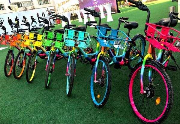 北京现七彩单车