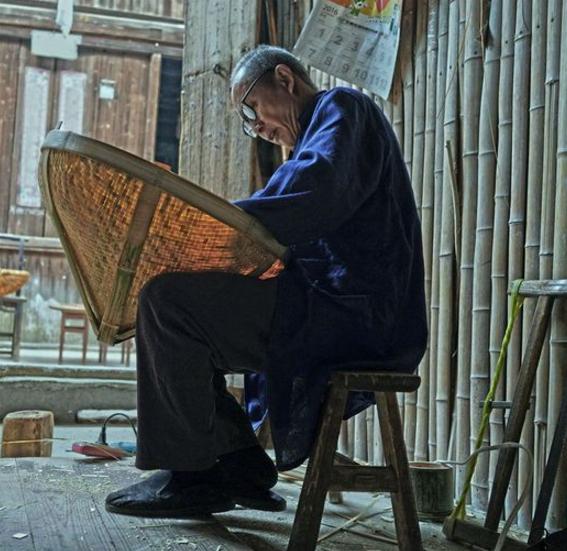 老街上的手艺人