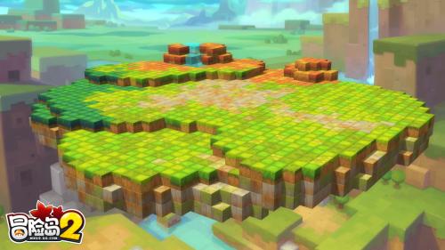 《冒险岛2》张艺兴买了一座岛,但由你来造!