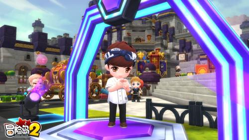 《冒险岛2》张艺兴生日狂欢趴打CALL