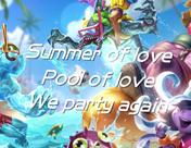 英雄联盟7周年创作大赛创作泳池派对主题曲