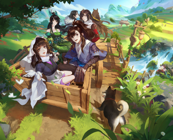 剑网3:指尖江湖更新壁纸