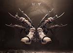 新型枪鞋研发成功 动动脚趾 穿越火线
