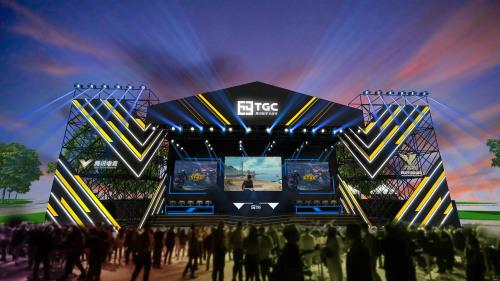 《和平精英》登陆TGC海南站电竞舞台
